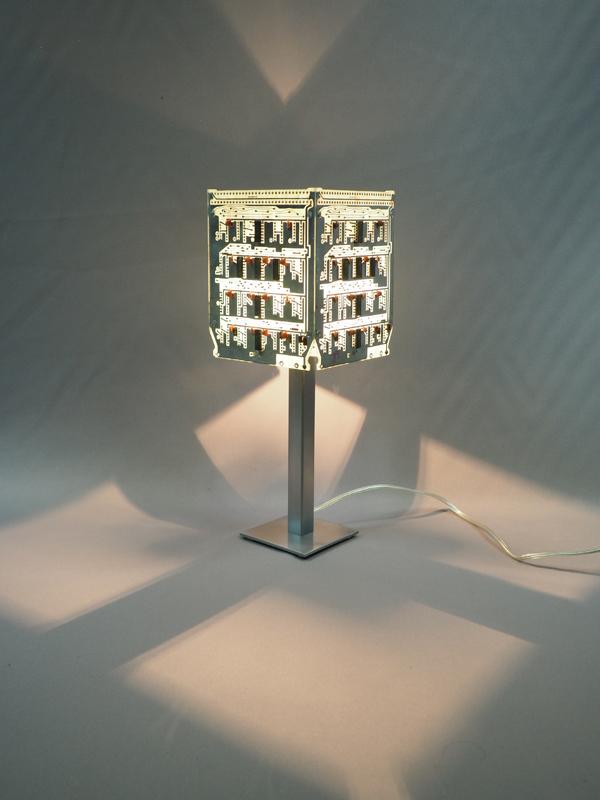 lampe allumée recyclage