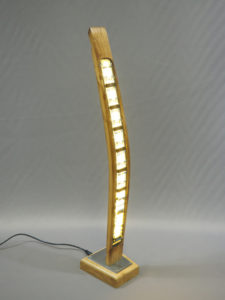 sculpture lumineuse design art déco